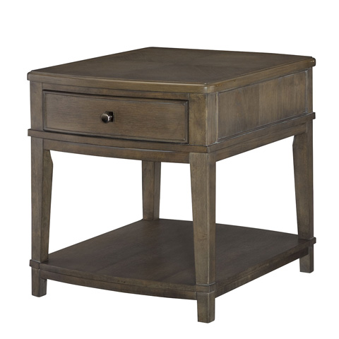Hammary Furniture - Rectangular Drawer End Table - 488-915