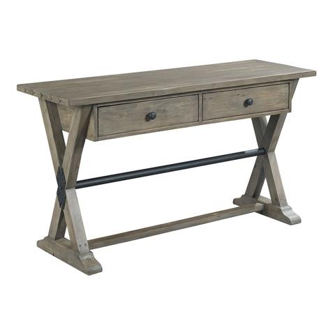 Hammary - Trestle Sofa Table - 523-925