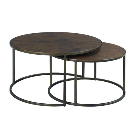 Hammary - Round Nesting Cocktail Table - 553-911