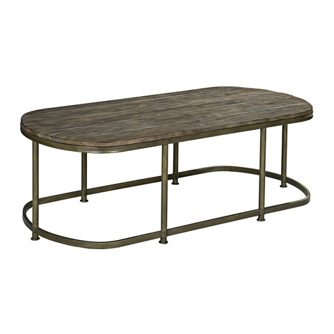 Hammary Furniture - Oval Cocktail Table - 563-913
