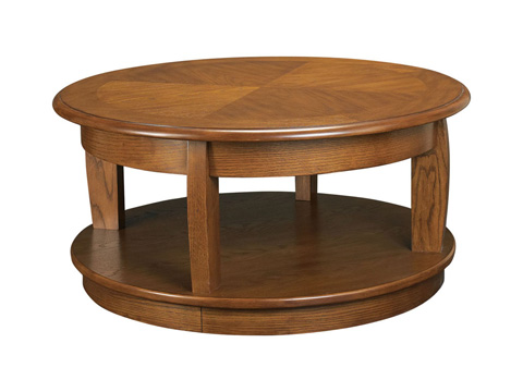 Image of Round Lift-Top Cocktail Table
