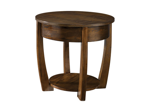 Image of Round End Table