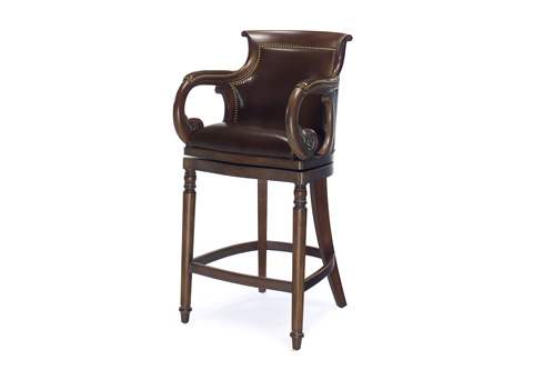 Image of Jockey Club Swivel Barstool