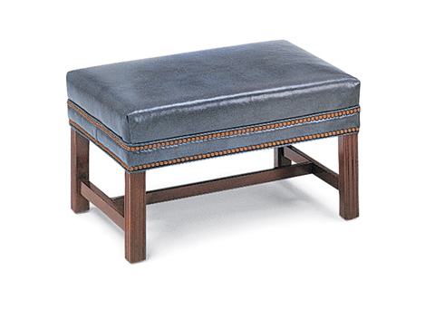 Hancock and Moore - Chippendale Ottoman - 052