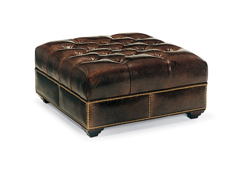 Hancock and Moore - Campaign Cocktail Ottoman - 072