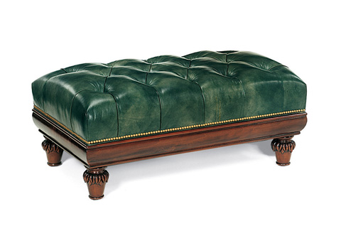 Hancock and Moore - Somerset Rectangular Cocktail Ottoman - 076