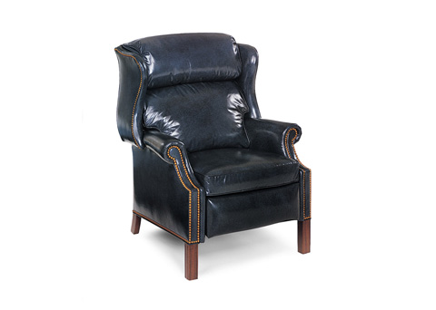 Hancock and Moore - Browning Bustle Back High-Leg Recliner - 1001