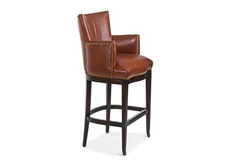 Hancock and Moore - Station Swivel Barstool - 152-30