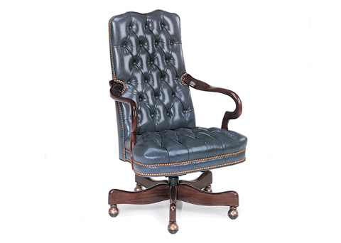 Hancock and Moore - Kensington Tufted Swivel-Tilt Chair - 2802ST