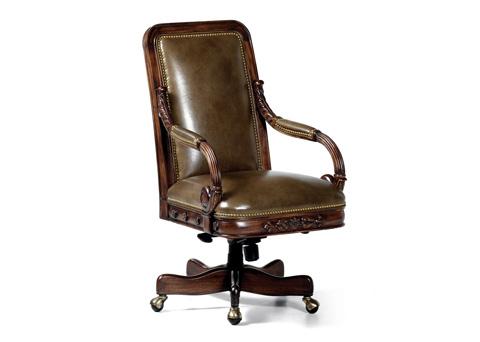 Hancock and Moore - Walton Swivel Tilt Chair - 4355ST-PL