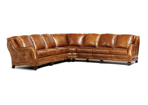 Hancock and Moore - Sundance Leather Sectional - 4716LAQ