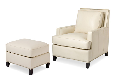 Image of Arrington Chair and Ottoman