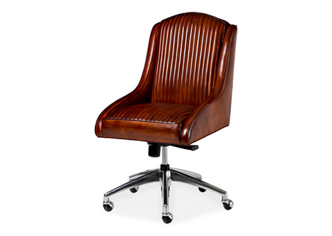 Hancock and Moore - Monza Swivel Tilt Chair - 5658ST-PL