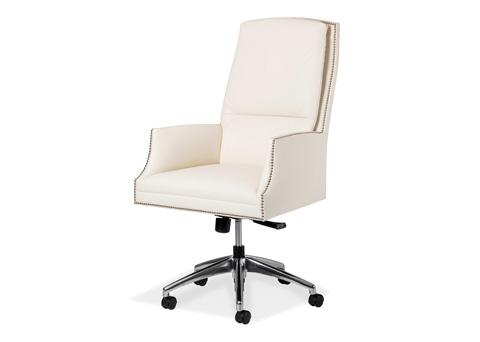 Hancock and Moore - Beckett Swivel Tilt Chair - 5857ST-PL