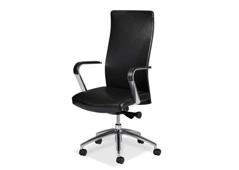Image of Sleek Swivel Tilt Chair