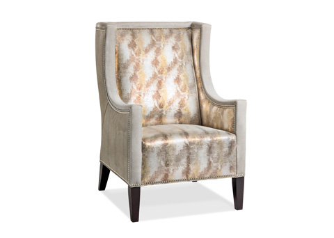 Hancock and Moore - Luxe II Chair with Upholstered Border - 5912-1