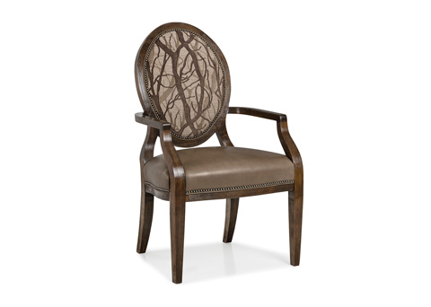 Hancock and Moore - Brandi Oval Back Chair - 5952-1