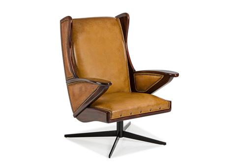 Image of Boomerang Swivel Chair