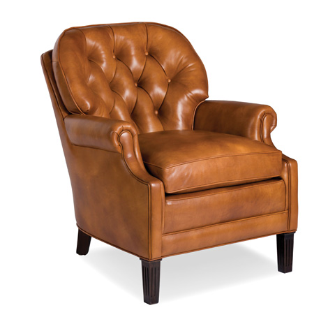 Hancock and Moore - Richmond Tufted Leather Chair - 8102-NC