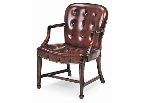 Hancock and Moore - Georgetown Buttoned Side Chair - 8314