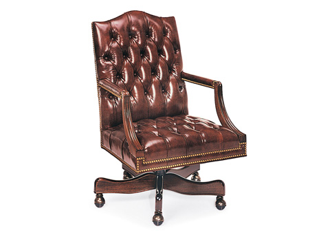 Hancock and Moore - Jefferson Tufted Swivel-Tilt Chair - 8602ST