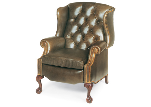 Hancock and Moore - Sterling Tufted Wing Chair Power Recliner - 1013-PR