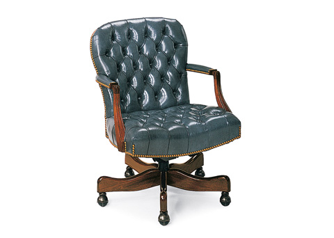 Hancock and Moore - Georgetown Tufted Swivel-Tilt Chair - 8317ST