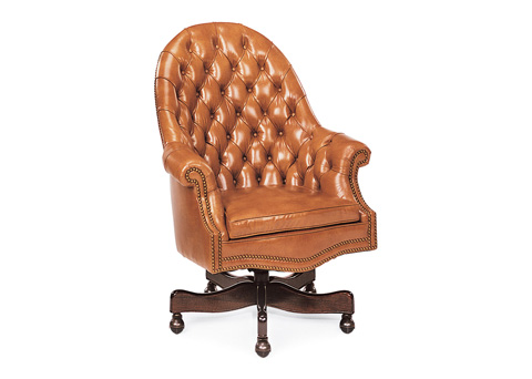 Hancock and Moore - English Loose Cushion Swivel-Tilt Chair - 8612ST