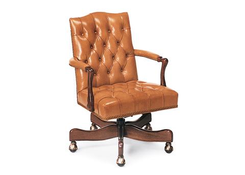 Hancock and Moore - Graham Tufted Swivel-Tilt Chair - 9118ST