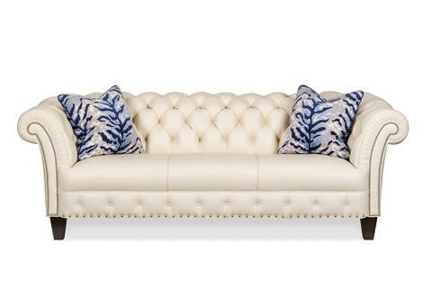 Image of Henessey Tapered Leg Sofa