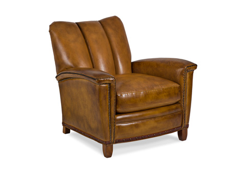 Hancock and Moore - Tulip Channel Back Club Chair - 6121-1-C