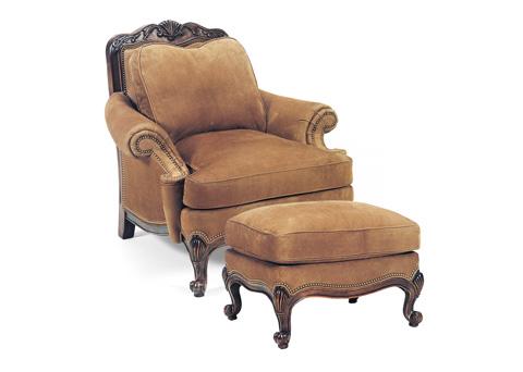 Hancock and Moore - Renoir Chair and Ottoman - 1485/1486