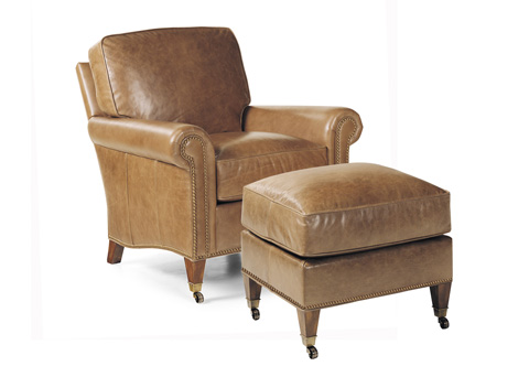 Hancock and Moore - Reserve Chair and Ottoman - 4150/4151