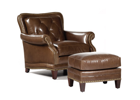 Hancock and Moore - Sloane Chair and Ottoman - 4351/4352