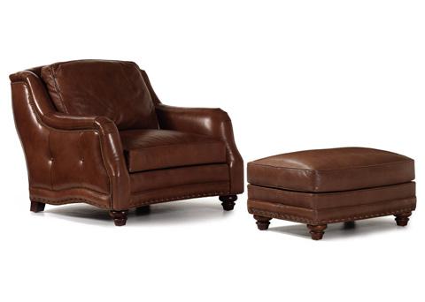 Hancock and Moore - Sundance Chair and Ottoman - 4706/4715