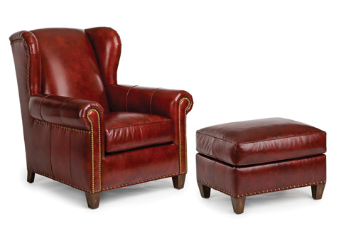 Hancock and Moore - Roy Chair and Ottoman - 5290/5291
