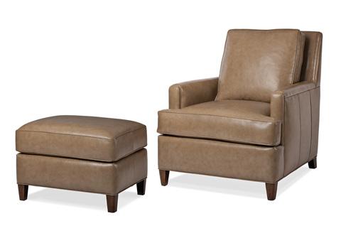 Hancock and Moore - Ricki Chair and Ottoman - 5831-O/5831-1