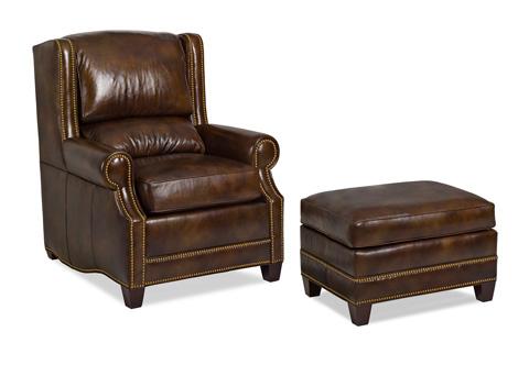 Hancock and Moore - Epic Chair and Ottoman - 6117-O/6117-1