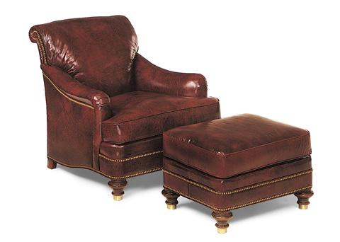Hancock and Moore - Tarleton Chair and Ottoman - 9007/9008