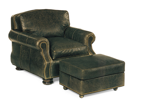 Hancock and Moore - September Chair and Ottoman - 9746/9747
