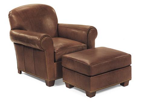 Hancock and Moore - Harbison Chair and Ottoman - 9760/9761