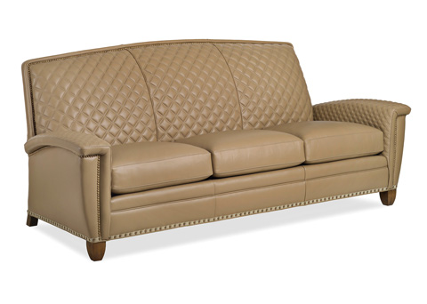 Hancock and Moore - French Curve Quilted Sofa - 6155-3-Q