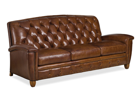 Hancock and Moore - French Curve Tufted Sofa - 6155-3-T
