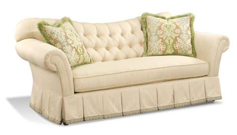 Harden Furniture - Tufted Sofa with Roll Arms - 9560-086