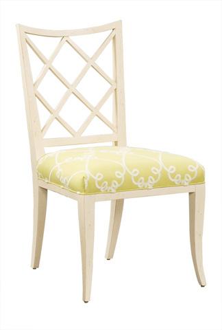 Harden Furniture - Lattice Back Side Chair - 559