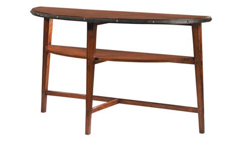 Harden Furniture - Iron Road Demi-Lune Console - 1677