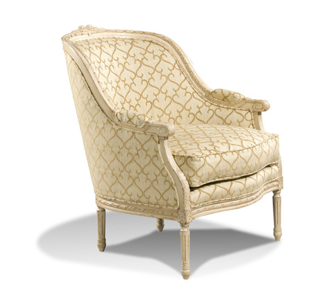 Harden Furniture - Carved Frame Accent Lounge Tub Chair - 3448-000