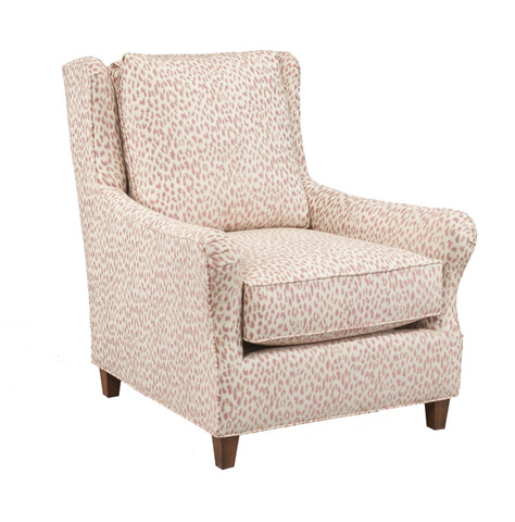Image of Flared Arm Wing Chair