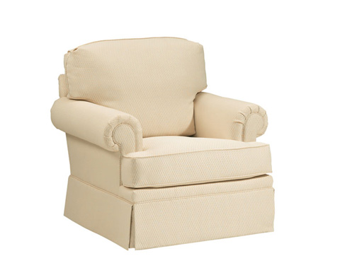 Image of Rolled Arm Club Chair