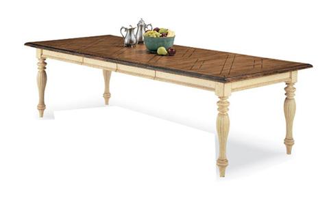 Harden Furniture - Lattice Top Dining Table - 1360-2